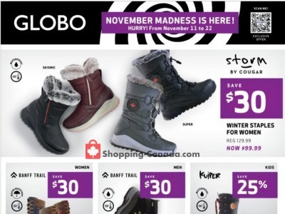 Globo Shoes Outdated Flyer Thumbnail