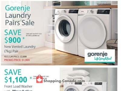GOEMANS APPLIANCES Flyer Thumbnail
