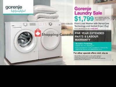 GOEMANS APPLIANCES Outdated Flyer Thumbnail