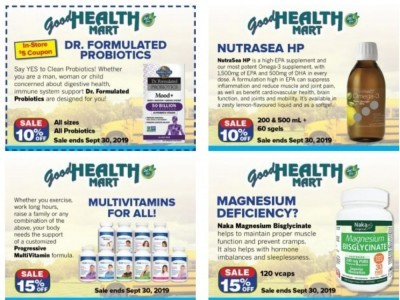 Good Health Mart Flyer Thumbnail