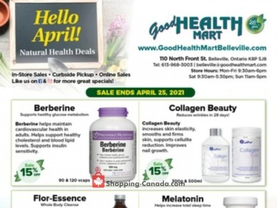 Good Health Mart Flyer Thumbnail