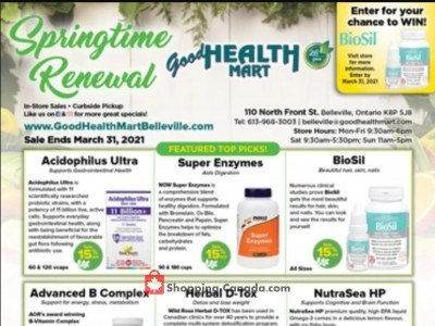 Good Health Mart Outdated Flyer Thumbnail