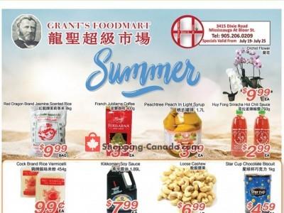 Grant's Foodmart Flyer Thumbnail