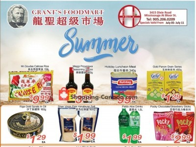 Grant's Foodmart Outdated Flyer Thumbnail