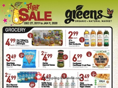 Greens Market Outdated Flyer Thumbnail