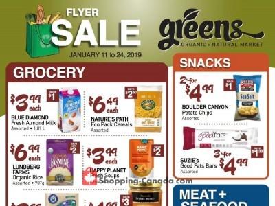 Greens Market Flyer Thumbnail