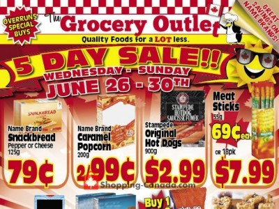 Grocery Outlet Outdated Flyer Thumbnail