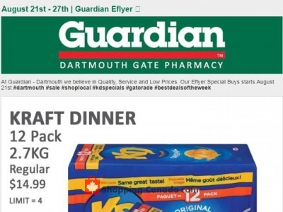 Guardian Outdated Flyer Thumbnail