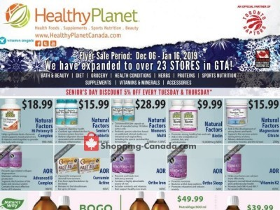 Healthy Planet Outdated Flyer Thumbnail