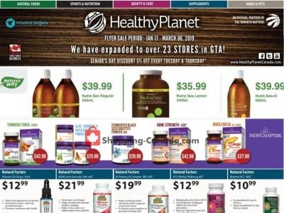 Healthy Planet Flyer Thumbnail
