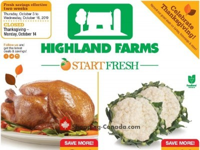 Highland Farms Flyer Thumbnail