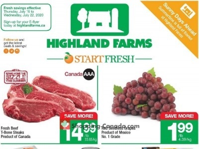 Highland Farms Flyer Thumbnail