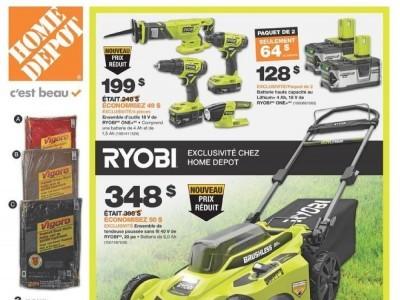 Home Depot Flyer Thumbnail