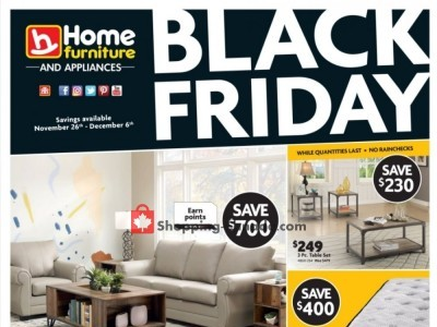 Furniture Flyers Weekly Ads In Canada, Furniture Black Friday Canada