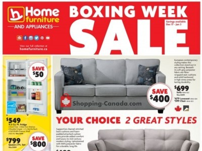 Home Furniture Flyer Thumbnail
