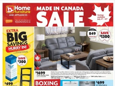 Home Furniture Outdated Flyer Thumbnail