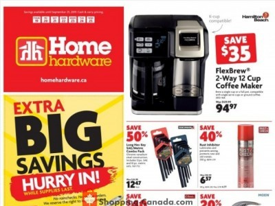 Home Hardware Outdated Flyer Thumbnail
