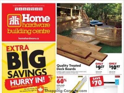 Home Hardware Flyer Thumbnail