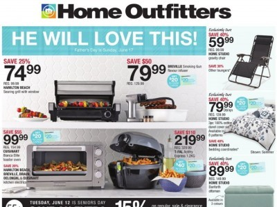 Home Outfitters Flyer Thumbnail