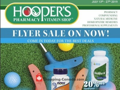 Hoopers Pharmacy Outdated Flyer Thumbnail