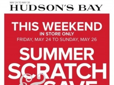 Hudson's Bay Outdated Flyer Thumbnail