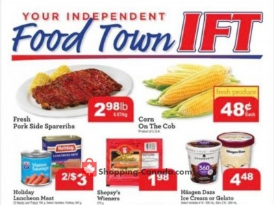 IFT Independent Food Town Outdated Flyer Thumbnail
