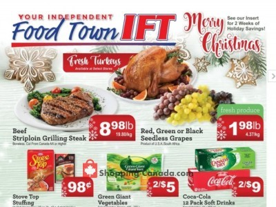 IFT Independent Food Town Flyer Thumbnail