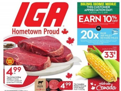 IGA Extra Outdated Flyer Thumbnail