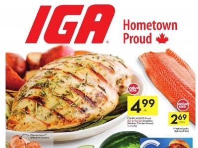 IGA Extra Flyer Thumbnail