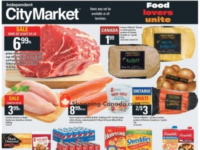 Independent City Market Flyer Thumbnail