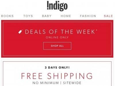 Indigo - Chapters Flyer Thumbnail