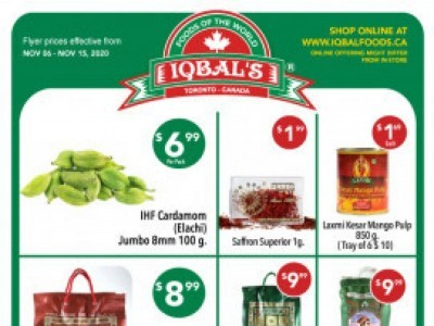 Iqbal Foods Outdated Flyer Thumbnail
