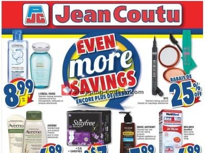 Jean Coutu Pharmacy Outdated Flyer Thumbnail