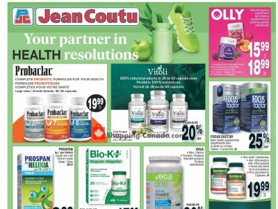 Jean Coutu Pharmacy Flyer Thumbnail