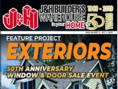 J&H Builder's Warehouse Outdated Flyer Thumbnail