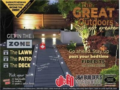 J&H Builder's Warehouse Flyer Thumbnail