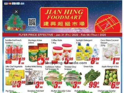 Jian Hing Supermarket Flyer Thumbnail