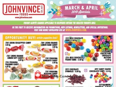Johnvince Foods Outdated Flyer Thumbnail