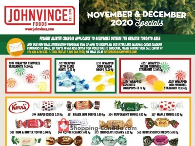 Johnvince Foods Flyer Thumbnail