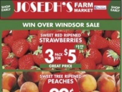 Joseph's Farm Market Outdated Flyer Thumbnail