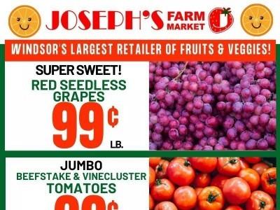 Joseph's Farm Market Flyer Thumbnail