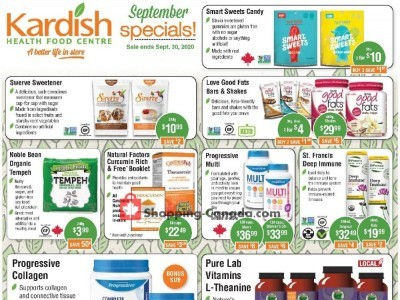 Kardish Health Food Centre Flyer Thumbnail