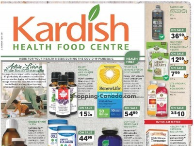 Kardish Health Food Centre Outdated Flyer Thumbnail