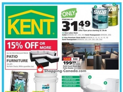 Kent Building Supplies Outdated Flyer Thumbnail