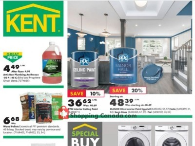 Kent Building Supplies Flyer Thumbnail