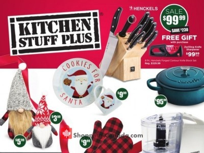 Kitchen Stuff Plus Outdated Flyer Thumbnail