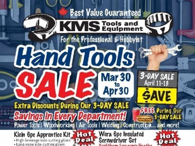 KMS Tools & Equipment Outdated Flyer Thumbnail