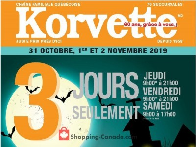 Korvette Outdated Flyer Thumbnail