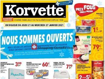 Korvette Flyer Thumbnail