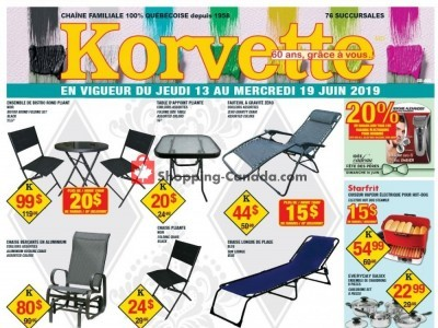 Korvette Outdated Flyer Thumbnail